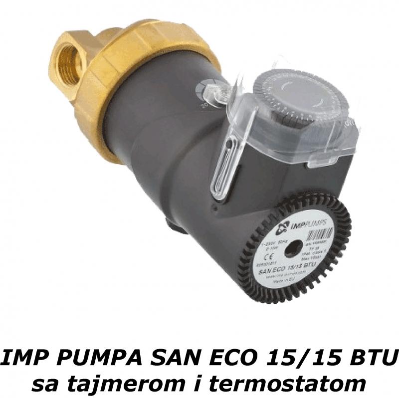 Cirkulaciona sanitarna pumpa IMP SAN ECO elektronska
