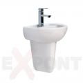 UMIVAONIK ARHIT ALVIT 450x350mm beli okrugli
