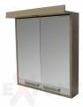 Ogledalo za kupatilo LENA gornji deo 71 cm 35-912