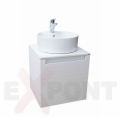 Ormar za kupatilo ART donji deo konzolni 50 cm i umetnički lavabo 35-800-A1