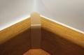 Lajsna za pokrivanje cevi Unutrasnji ugao Beli